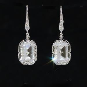 Swarovski Clear Rectangular Crystal..