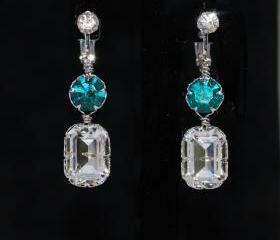 Crystal Clip on Scre..