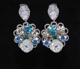 Wedding Earrings, Br..
